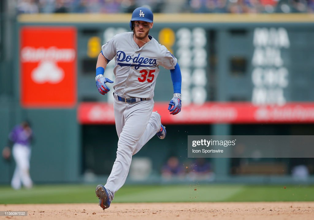 MLB: APR 05 Dodgers at Rockies : News Photo