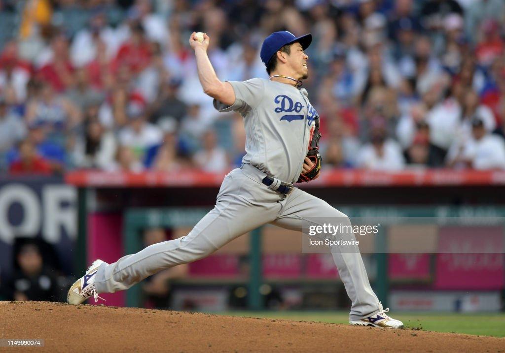 MLB: JUN 11 Dodgers at Angels : News Photo