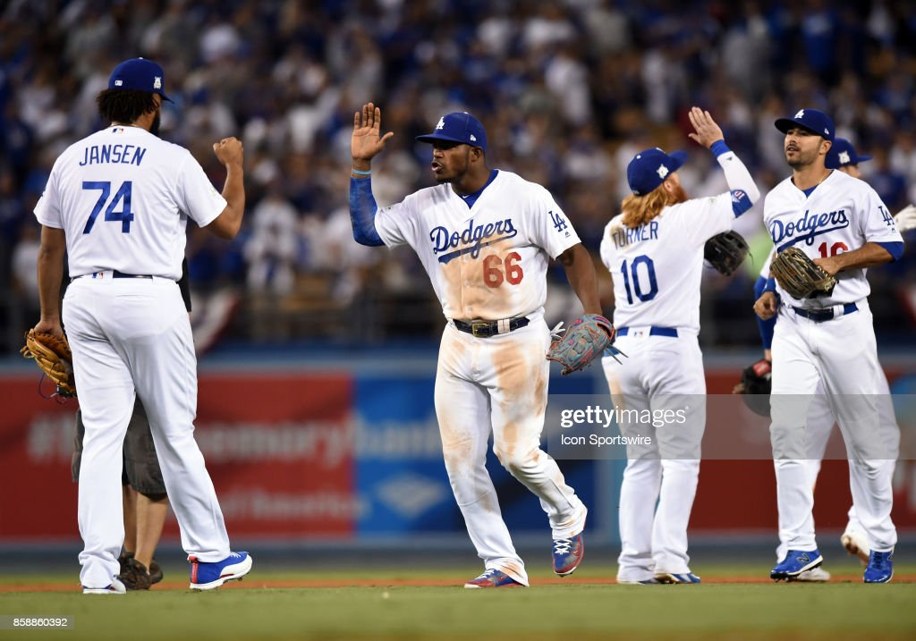 MLB: OCT 07 NLDS Game 2 - Diamondbacks at Dodgers : News Photo