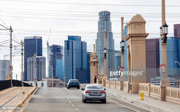 los angeles downtown - east stock pictures, royalty-free photos & images