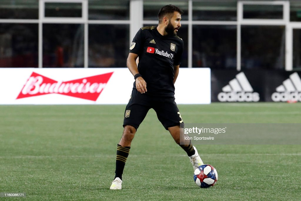 SOCCER: AUG 03 MLS - LAFC at New England Revolution : News Photo