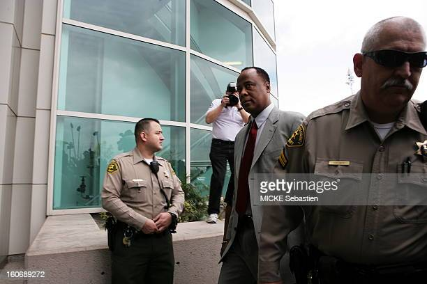 Los Angeles February 8 2010 Conrad Murray the personal physician of Michael Jackson was charged with manslaughter for the death of the King of Pop...