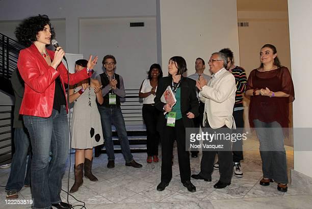 Los Angeles Film Festival Programmer Hebe Tabachnik Directors Dariela Ludlow Deloya Aaron Schock Adriana Yurcovich Albino Alvarez Gomez Ernesto Diaz...