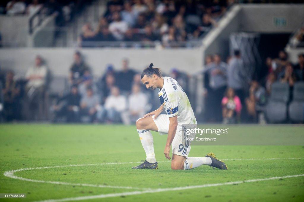 SOCCER: OCT 24 MLS Cup Playoffs - LA Galaxy at LAFC : News Photo