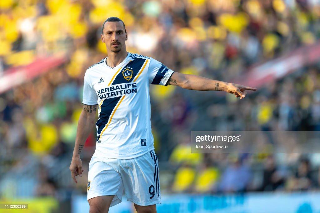 SOCCER: MAY 08 MLS - LA Galaxy at Columbus Crew SC : News Photo