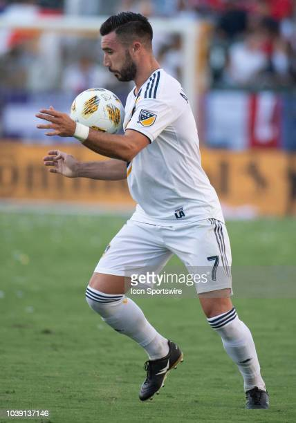 Los Angeles Galaxy midfielder Romain Alessandrini during the MLS regular season match between Los Angeles Galaxy and Seattle Sounders on September 23...