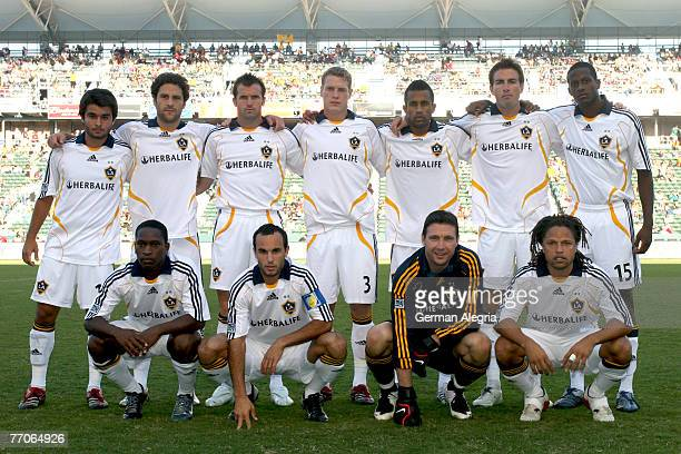 Los Angeles Galaxy's team shot prior to today's match vs FC Dallas at the Home Depot Center on September 23 2007 in Carson California The Los Angeles...