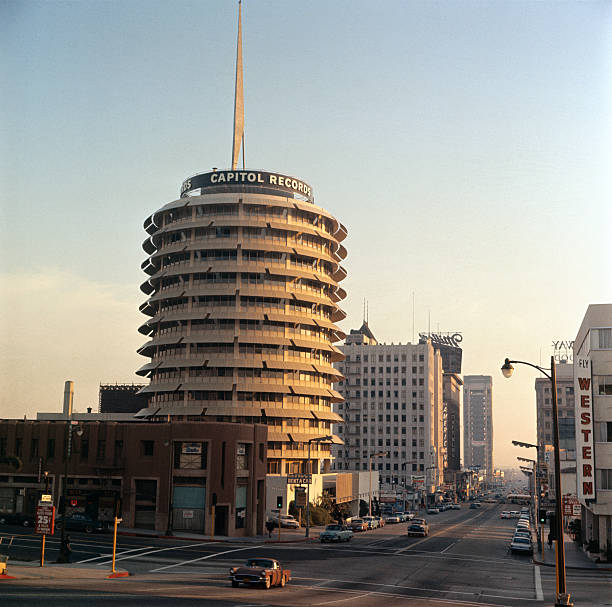 CA: 6th April 1956 - The Capitol Records Building Opened