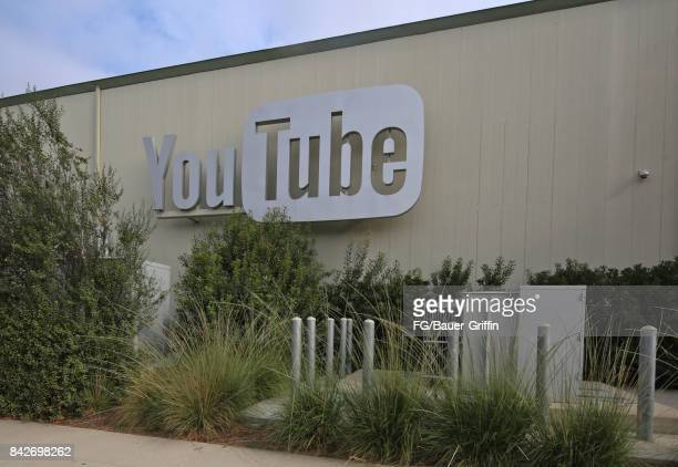 Los Angeles headquarters of You Tube on September 04 2017 in Los Angeles California