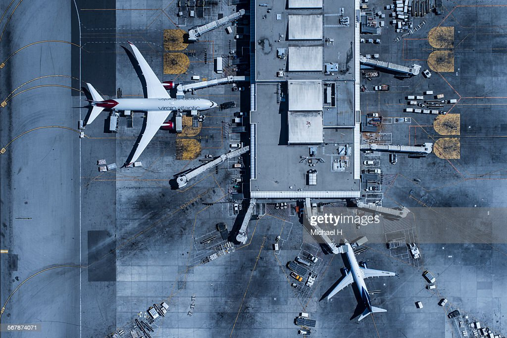 Los Angeles International Airport(LAX) : Stock Photo