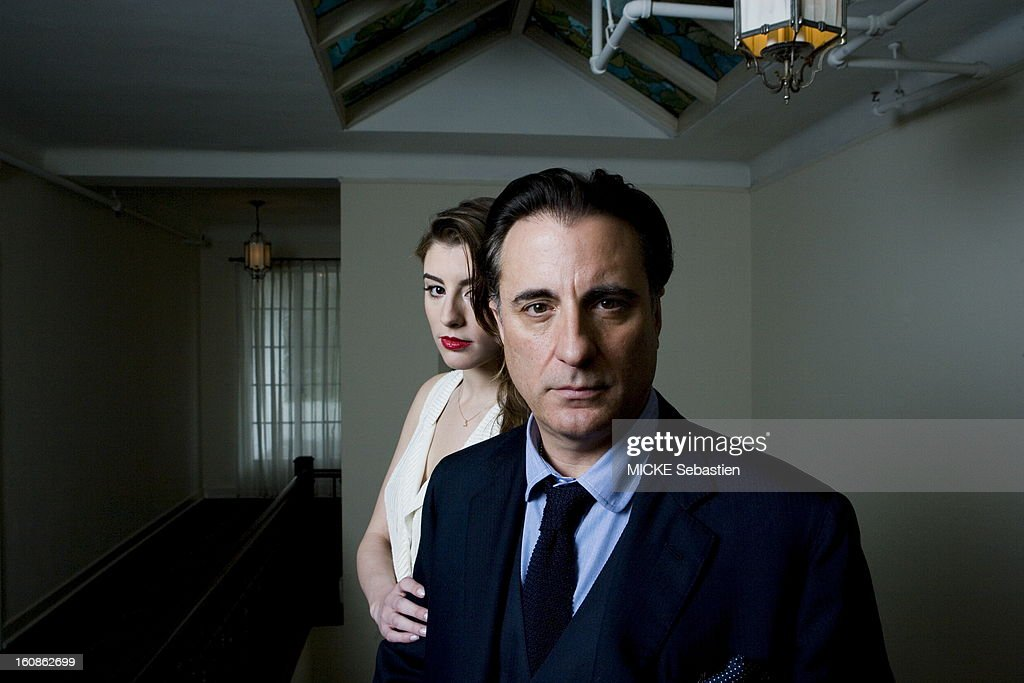Rendezvous With Andy Garcia And His Daughter In Los Angeles Dominik : News Photo
