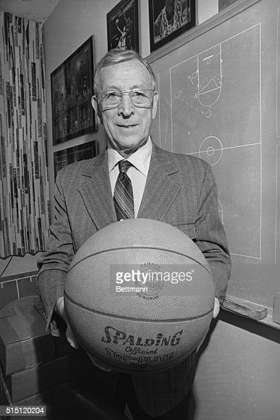 John Wooden the master tactician behind the longest win streak in college basketball history was named UPI's Coach of the Year for the second...
