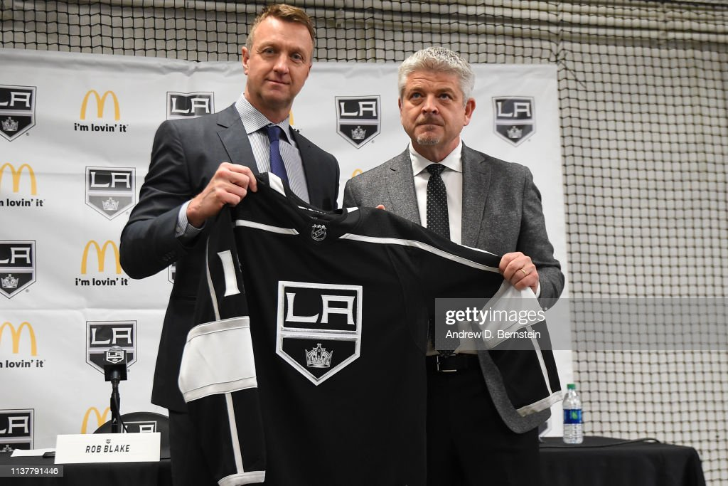 CA: Los Angeles Kings Introduce Todd McLellan