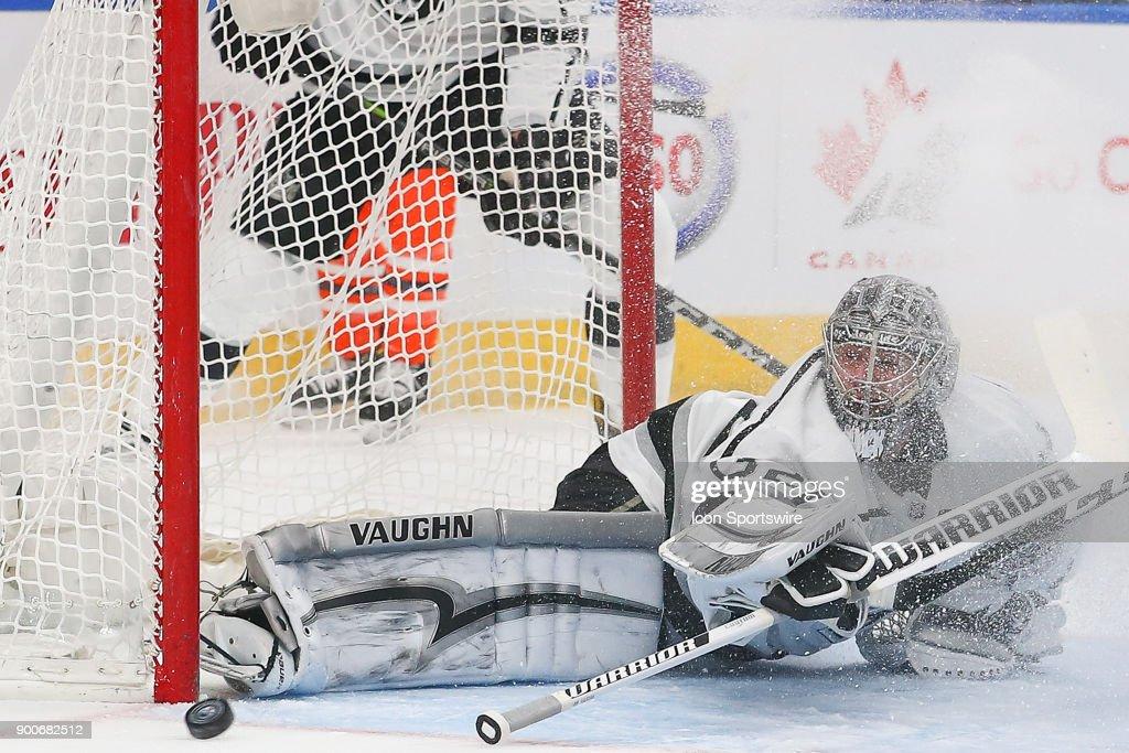NHL: JAN 02 Kings at Oilers : News Photo
