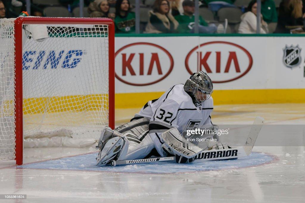 NHL: OCT 23 Kings at Stars : News Photo