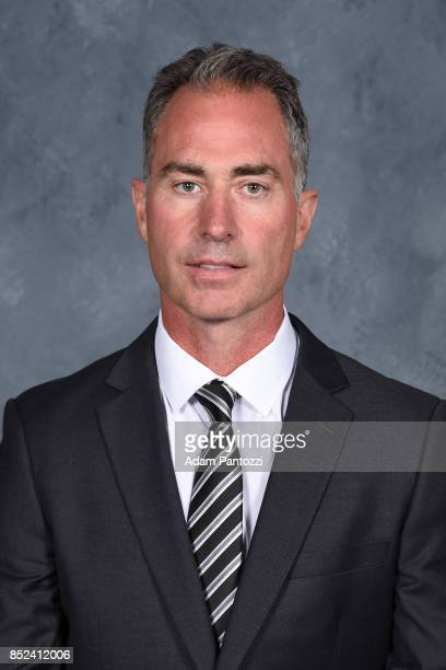 Los Angeles Kings Head Coach John Stevens poses for his official headshot for the 20172018 season on August 16 2017 at the Toyota Sports Center in El...