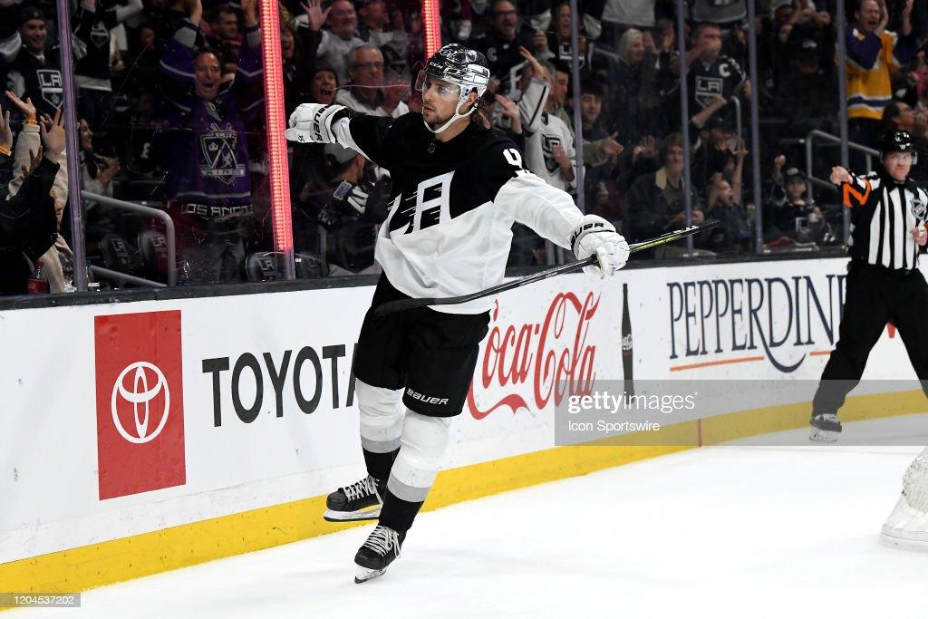 NHL: FEB 29 Devils at Kings : News Photo