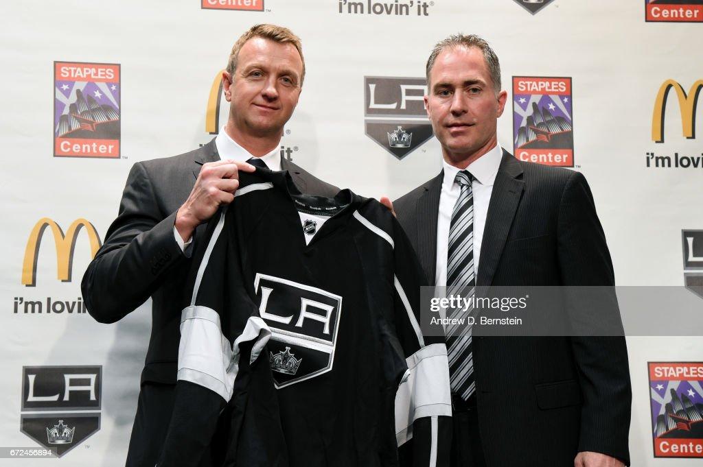 Los Angeles Kings Introduce John Stevens