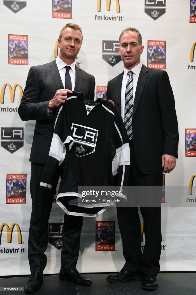 Los Angeles Kings Introduce John Stevens