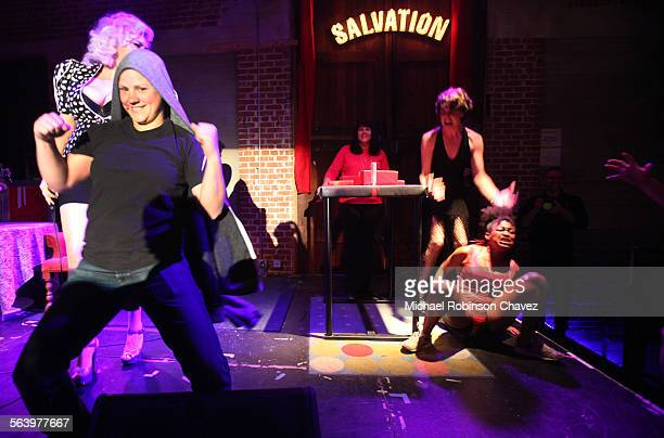 Los Angeles Ladies Arm Wrestling took their show to the Bootleg Theater for the Valentines Day Massacre Ladies dressed in full regalia compete and...