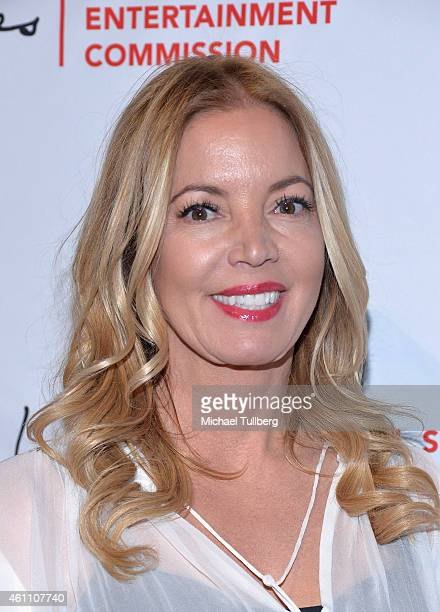 Los Angeles Lakers CoOwner Jeanie Buss attends the Los Angeles Sports And Entertainment Commission's 11th Annual Lakers AllAccess Event at Staples...
