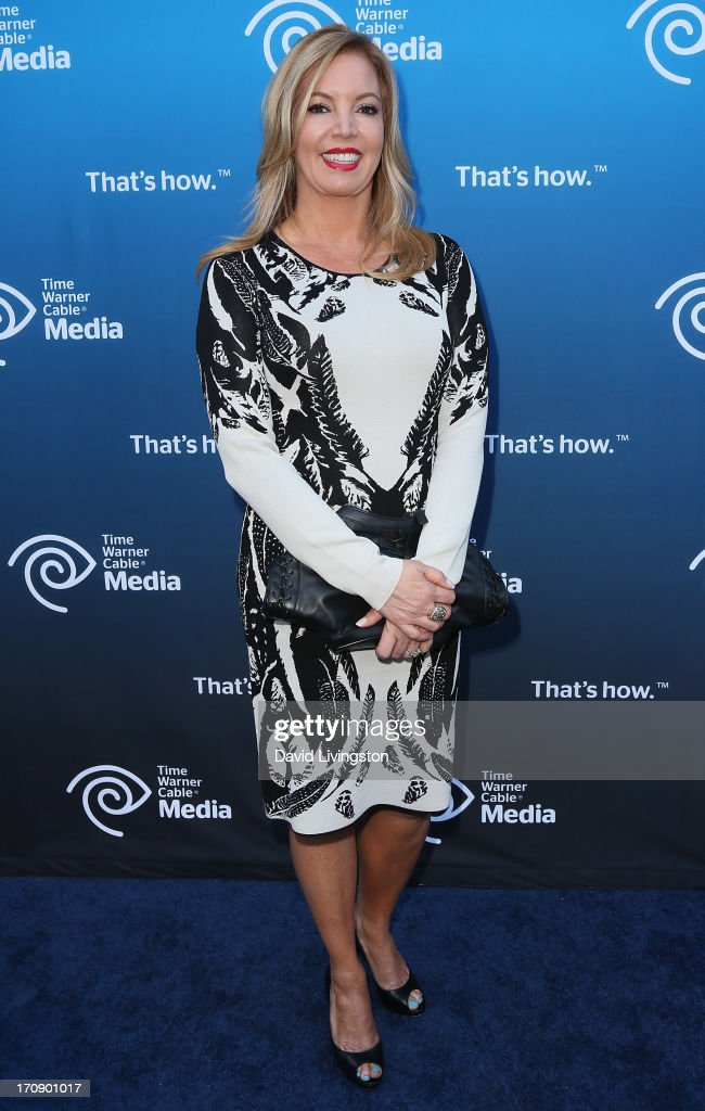 Los Angeles Lakers executive vice president of business operations Jeanie Buss attends Time Warner Cable Media (TWC Media) 'View From The Top' Upfront at Vibiana on June 19, 2013 in Los Angeles, California.