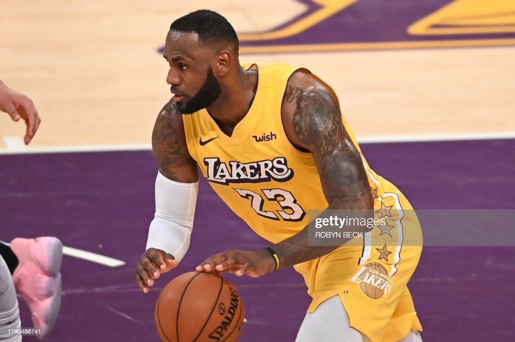BASKET-NBA-LAKERS-CLIPPERS : News Photo
