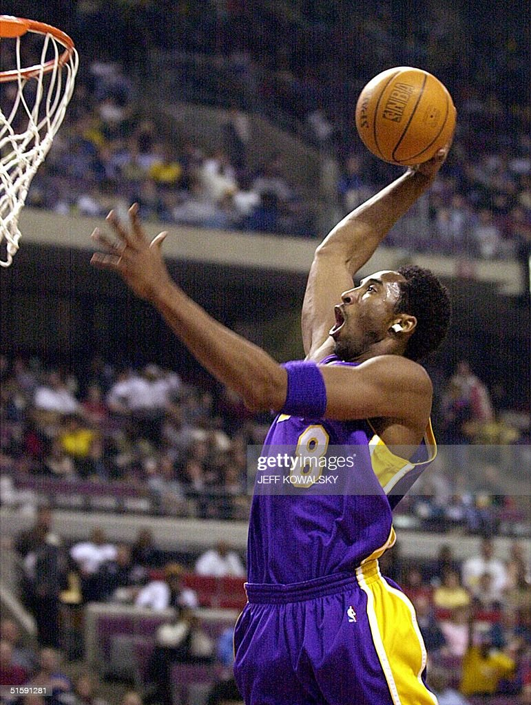 Los angeles lakers kobe bryant dunks the ball in pictures getty los angeles lakers kobe bryant dunks the ball in the first quarter in their game voltagebd Images