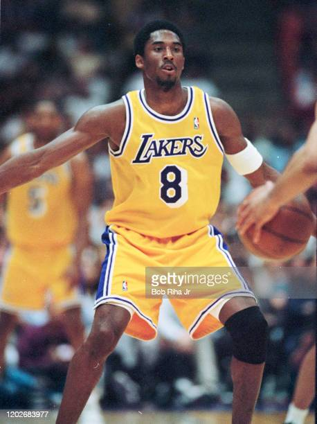 Los Angeles Lakers Kobe Bryant during Game 2 action during the NBA Playoff game against Portland Trailblazers in Los Angeles, California, April 26,...
