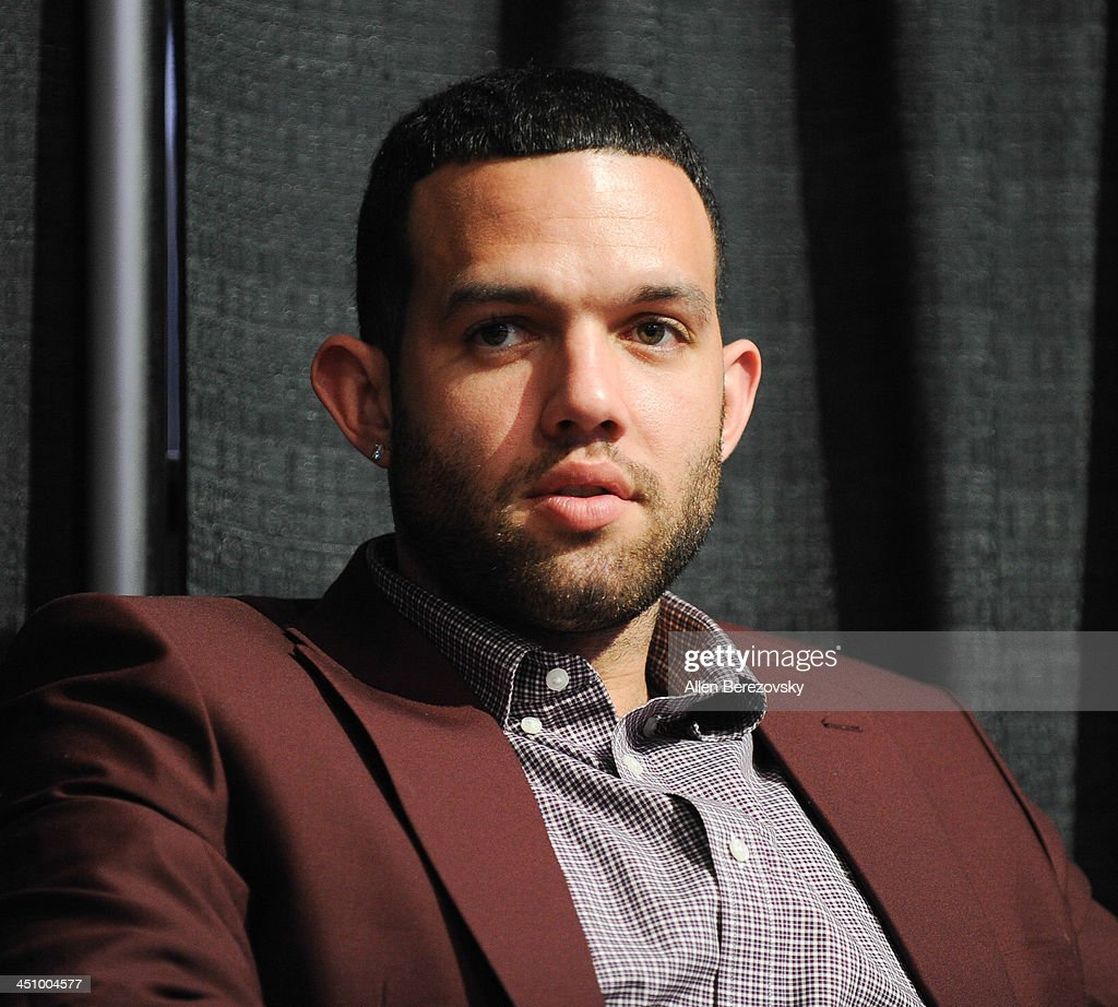 Los Angeles Lakers player Jordan Farmar attends the Los Angeles Sports and Entertainment Commission's 10th annual Lakers All-Access event at Staples Center on November 20, 2013 in Los Angeles, California.