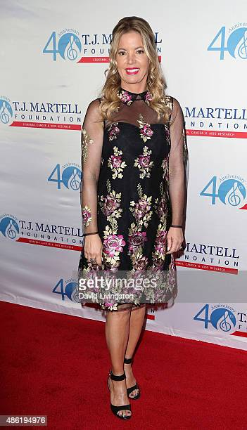 Los Angeles Lakers president Jeanie Buss attends the TJ Martell Foundation's Spirit of Excellence Awards at the Beverly Wilshire Four Seasons Hotel...