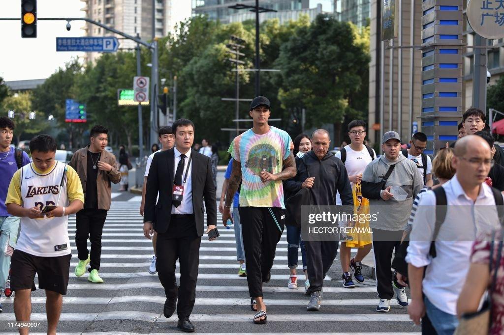 BASKET-NBA-CHN : News Photo