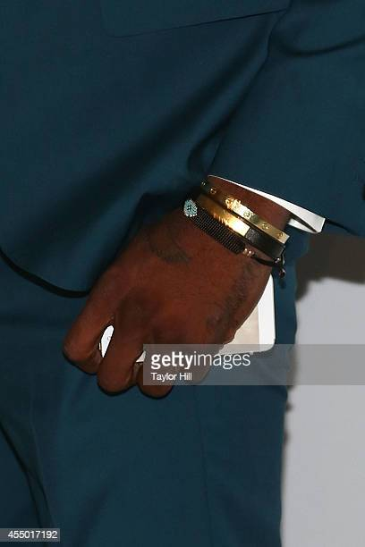 Los Angeles Lakers small forward Nick Young attends the REVEAL Calvin Klein Fragrance Launch Party at 4 World Trade Center on September 8 2014 in New...