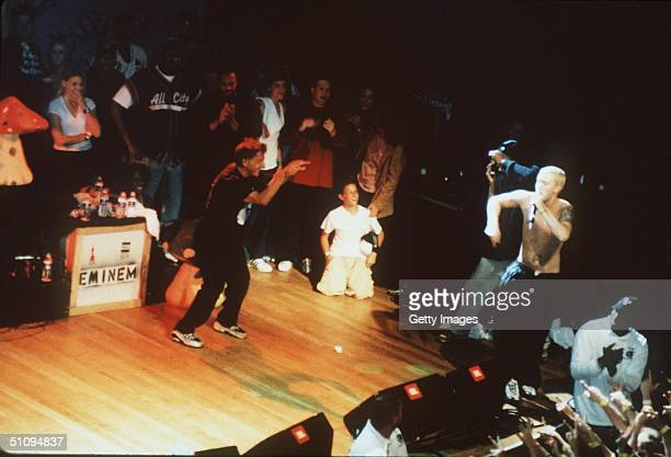 Los Angeles May 17 1999 Dustin Hoffman And His Children Attended Two SoldOut Concerts By Rap Artist Eminem At House Of Blues Los Angeles Hoffman...
