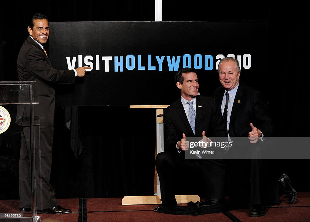 "Kickoff Of The ""Visit Hollywood 2010"" Campaign"