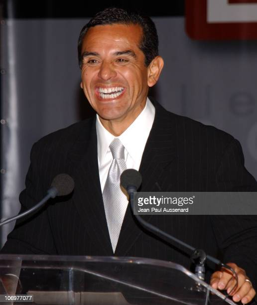 """Los Angeles Mayor Antonio Villaraigosa during """"The Bold and The Beautiful"""" Celebrates Five Years of SAP Technology on the CBS Television Network at..."""