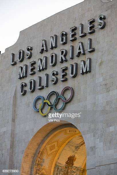 Los Angeles Memorial Coliseum Exterior Exhibition Park Los Angeles California USA