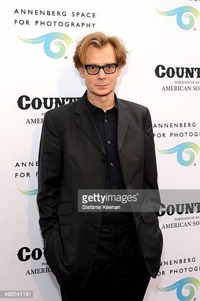 Los Angeles Museum of Contemporary Art director Philippe Vergne attends the Annenberg Space for Photography Opening Celebration for Country Portraits...