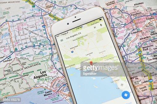 801点のgoogle Mapのストックフォト Getty Images