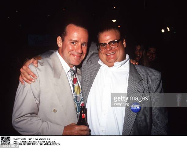 Los Angeles Phil Hartman And Chris Farley