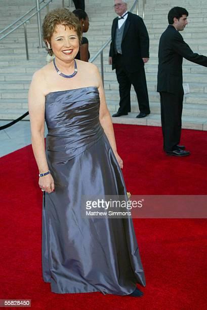 Los Angeles Philharmonic Association President Deborah Borda arrives at the opening night gala of the Los Angeles Philharmonic at the Walt Disney...