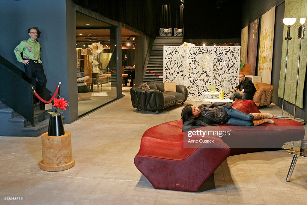 Los Angeles. Photos In Limn, A High End Gallery Of 21st Century Furniture .