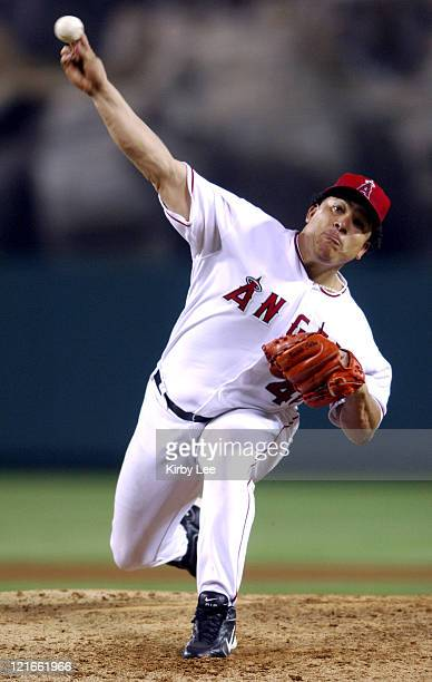 Los Angeles pitcher Bartolo Colon in action The Washington Nationals defeated the Los Angeles Angels of Anaheim 10 at Angel Stadium in Anaheim...