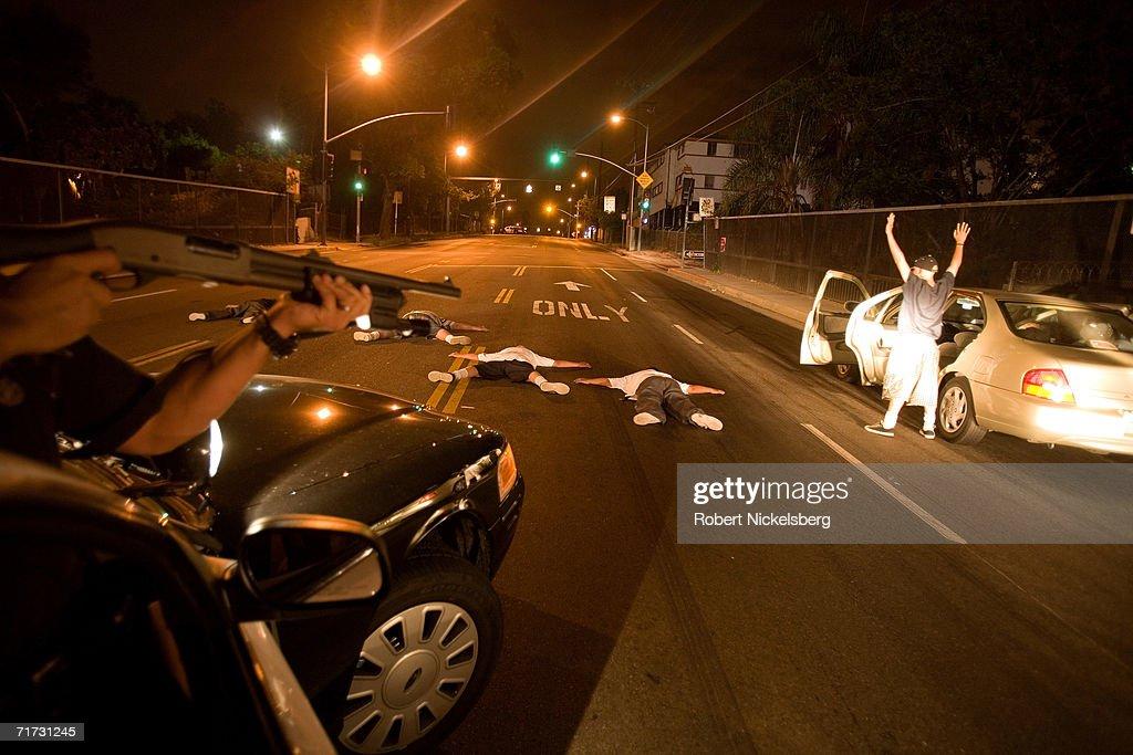LAPD Gang Units : News Photo