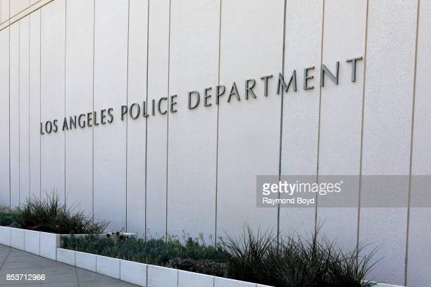 Los Angeles Police Department Headquarters in Los Angeles, California on September 10, 2017.