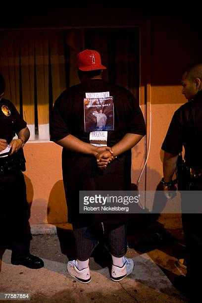 Los Angeles Police Department officers are called into a threelevel apartment complex for loud noise and drunken behavior September 21 Los Angeles...