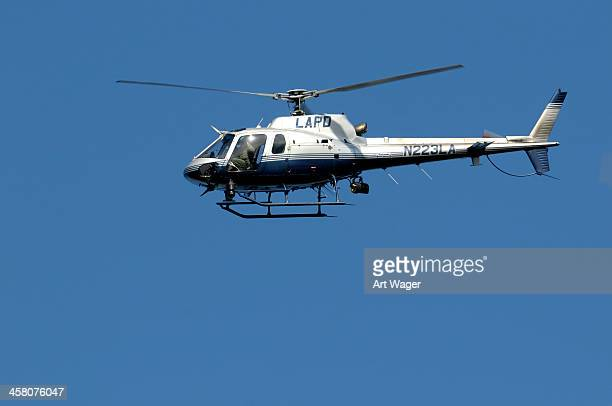 los angeles police helicopter - los angeles police department stock pictures, royalty-free photos & images
