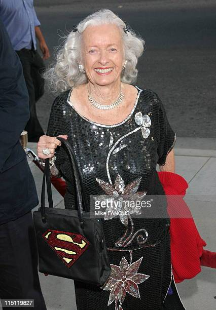 Los Angeles Premiere of Hollywoodland at the Academy Theatre in Beverly Hills United States on September 07 2006 Noel Neill