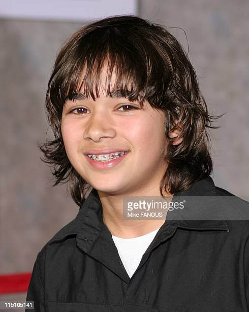 Los Angeles Premiere of 'The Pacifier' at El Capitan Theatre in Hollywood United States on March 01 2005 Luis Armand Garcia arrives to the Los...