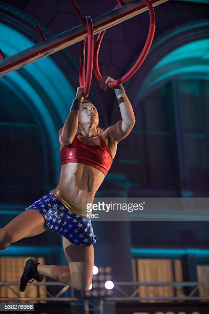 WARRIOR 'Los Angeles Qualifier' Pictured Jessie Graff
